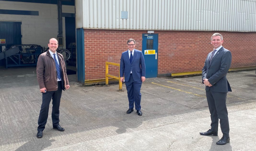 MP Richard Holden Joined By Defence Minister On Visit To Cook Defence Systems