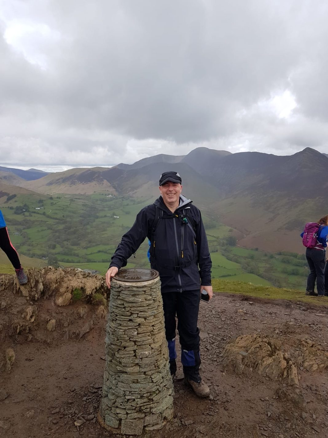 Brain Tumor Patient Preparing To Take On Yorkshire Three Peaks