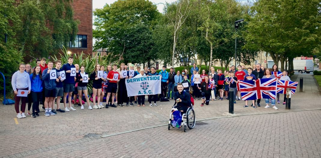 Well Wishes For Lyndon Longhorne As He Heads To The Paralympic Games