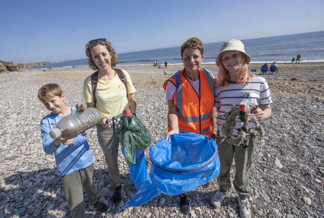 Cheers To The Volunteers Keeping Our County Coastline Beautiful!