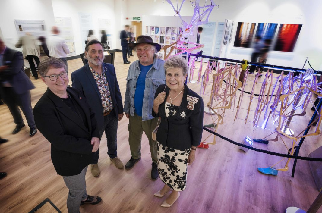 Veterans And Armed Forces Community Artwork Being Exhibited At Bishop Auckland Town Hall