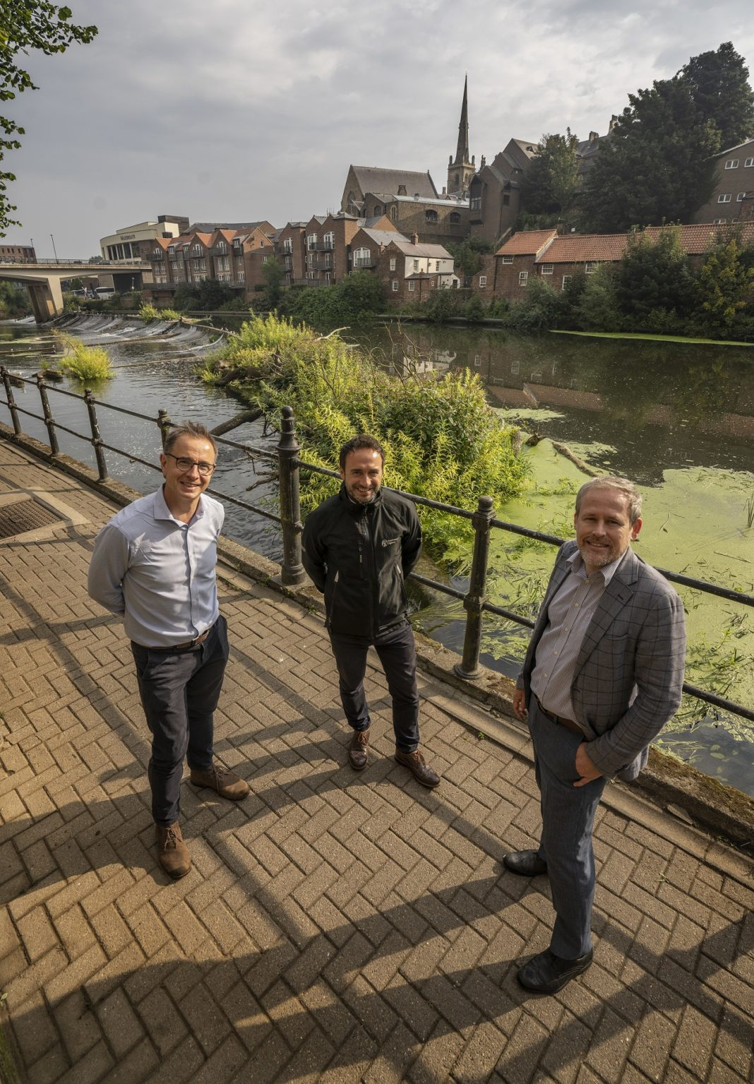 Durham City's Working To Keep Our Rivers And Paths Clear