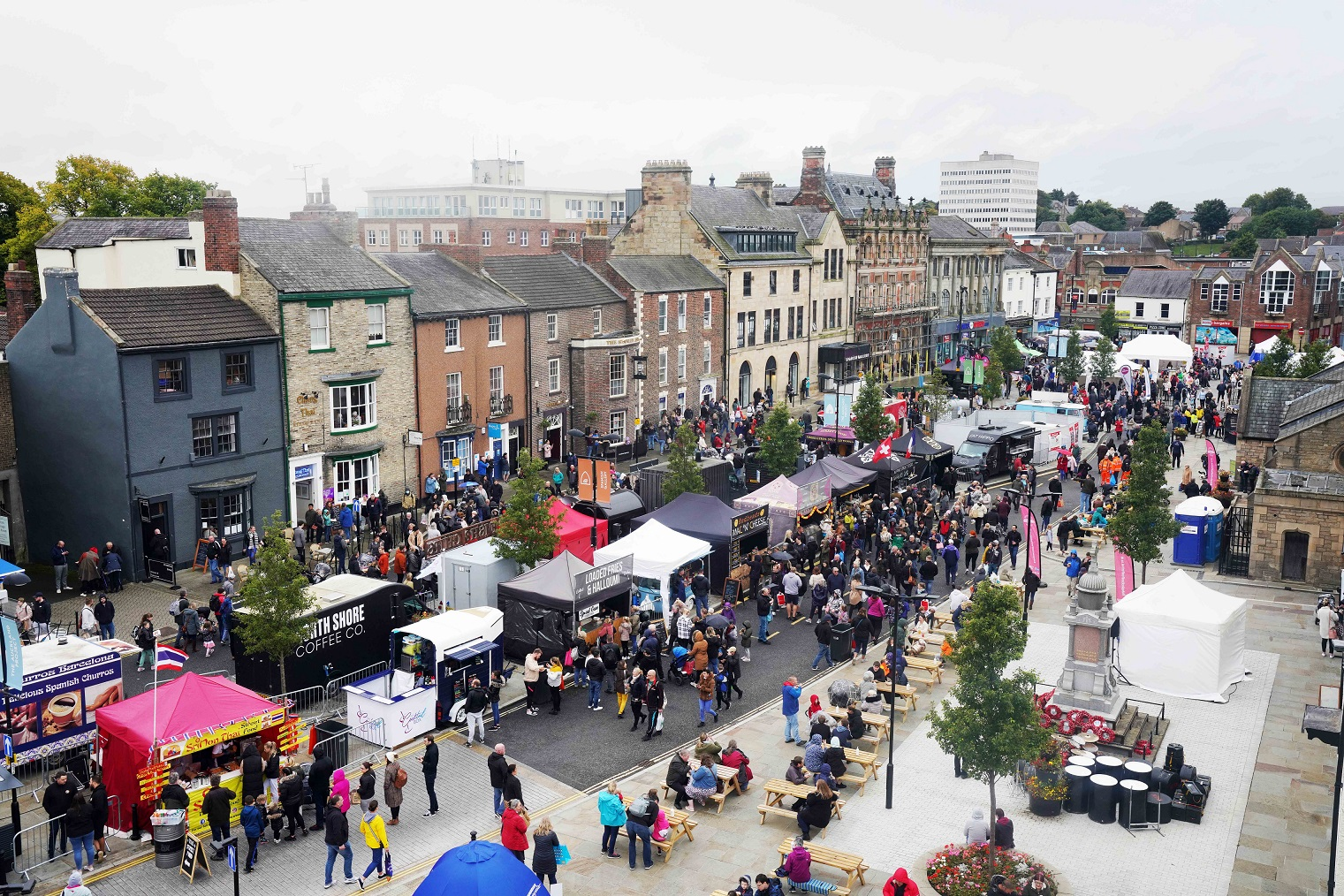 Celebrating All-Things Food At Bishop Auckland Food Festival