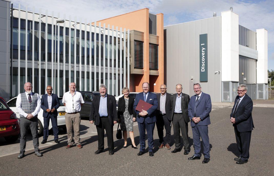 The Space Enterprise Lab Opens At NETPark, Sedgefield